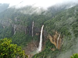 Image result for Nohkalikai Falls
