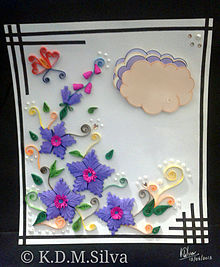 Quilling Wikipedia