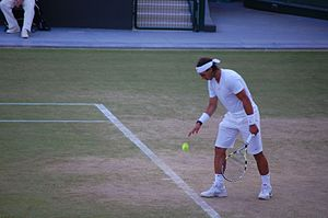 Tennis in Wimbledon 2010