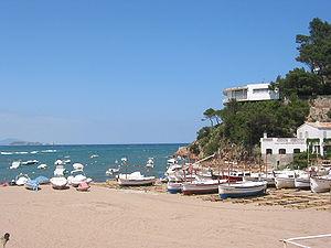 Sa Riera beach