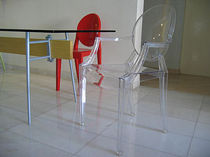 Table - Minimum Table (Cassina). Chairs - Loui...