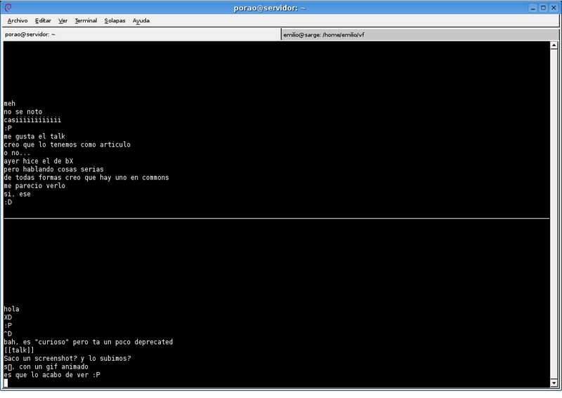 File:Unix talk screenshot 01.png