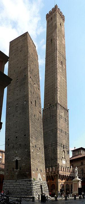 Bologne (Italie), les deux tours