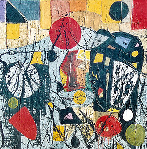 Albert Baumann Introspection 2003 cm 100x100
