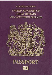 Passaporto Britannico Wikipedia
