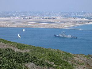 USS Thach (FFG-43) entering San Diego Bay