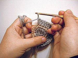 Crochet in round shape