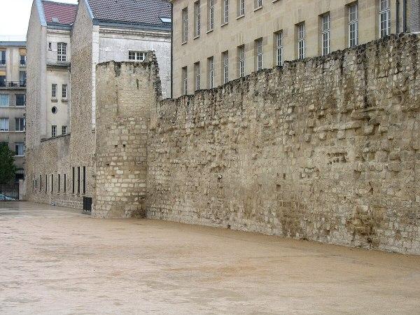 Philip II of Augustus Wall Paris