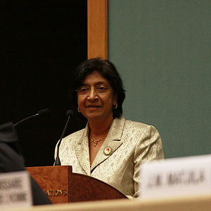 High Commissioner for Human Rights, Ms. Navane...