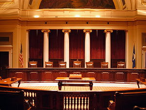 Historic Minnesota Supreme Court Chamber in th...