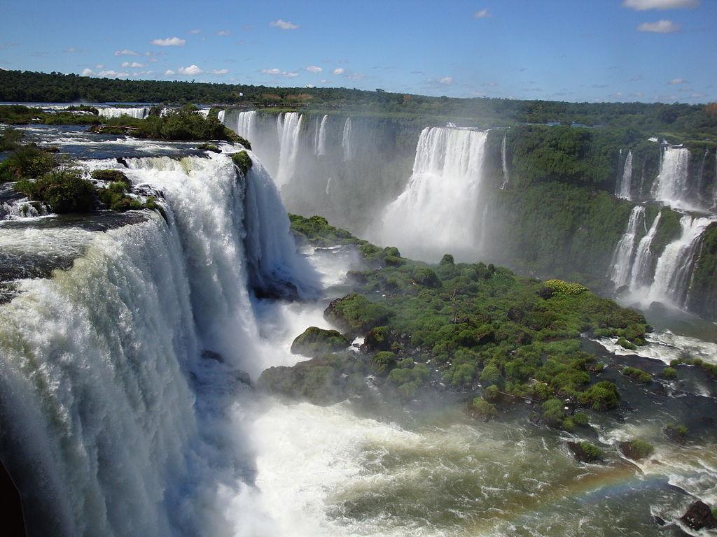 Iguazu Falls Brazil Wallpaper File Iguazu Falls Argentina Jpg Wikimedia Commons
