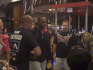 "Jon ""Bones"" Jones with fans - UFC 10..."