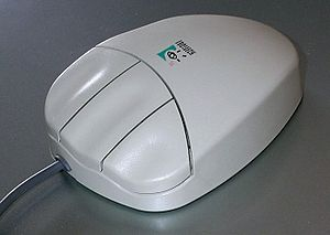 Three-button mouse