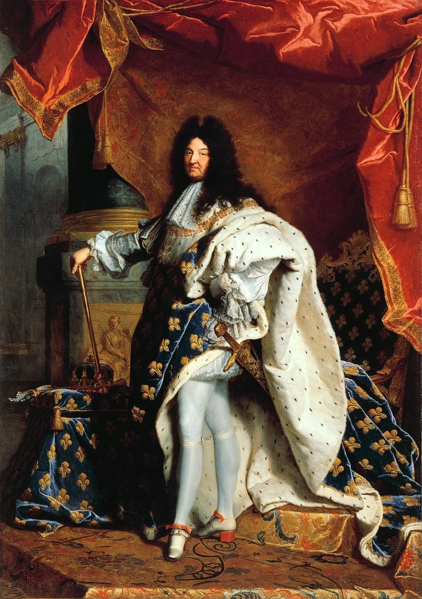 """Louis XIV of France"" by Hyacinthe Rigaud"