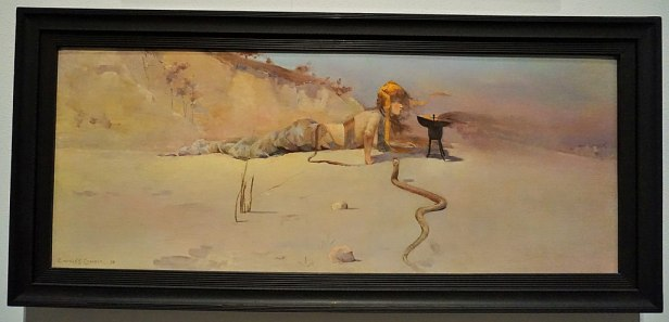 "National Gallery of Australia - Joy of Museums - ""Hot Wind"" by Charles Conder"