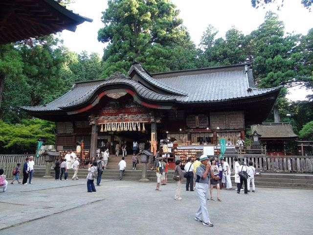 Northern Fuji Sengen Shrine at the base of Mt. Fuji 26-Aug-2012.JPG