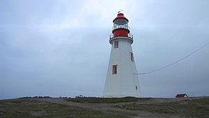 English: Port aux Choix lighthouse, Newfoundla...