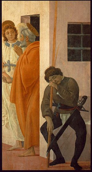 St Peter Freed from Prison