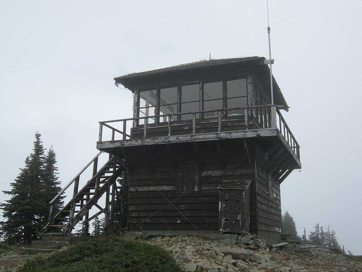 Tolmie Peak Fire Lookout  Wikipedia
