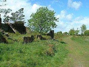 English: towards Elysium. on the Kirklees Way