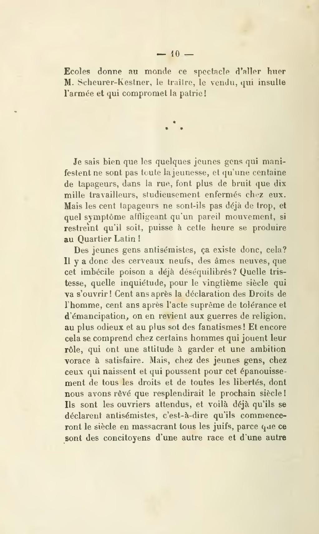 Zola Lettre à La Jeunesse : lettre, jeunesse, Page:Zola, Lettre, Jeunesse,, 1897.djvu/16, Wikisource