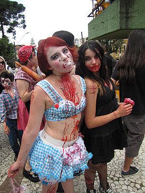 English: Zombie Walk 2010 - Curitiba