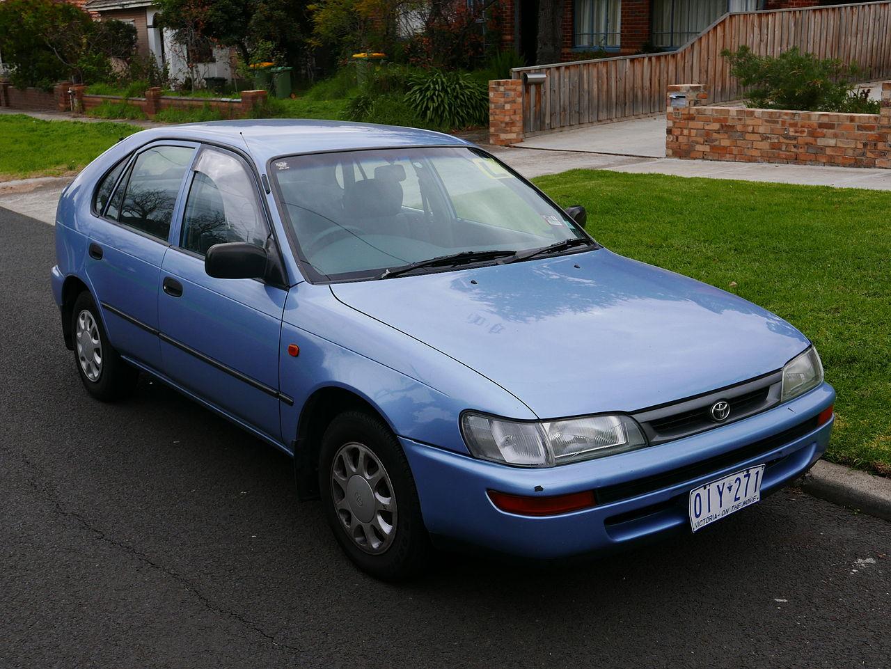 1997 Toyota Corolla 5 Doors  Partsopen