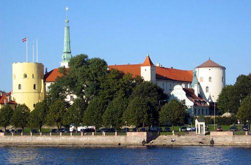 Riga Castle in Latvia