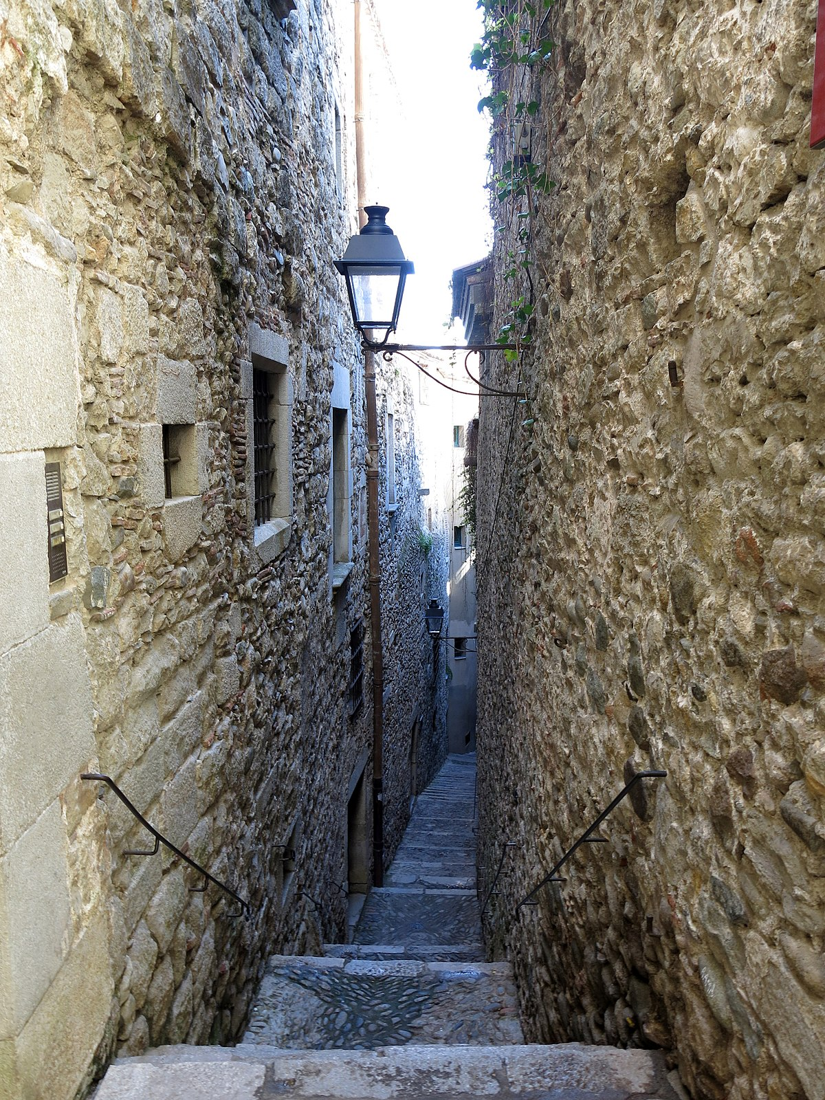 Carrer de Sant Lloren Girona  Viquipdia lenciclopdia lliure