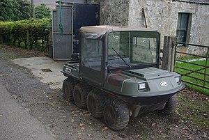 All terrain vehicle, 8-wheeler