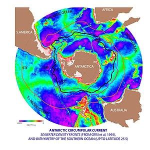 English: Summary: Antarctic circumpolar curren...