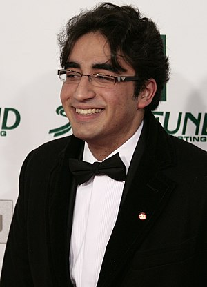 Bilawal Bhutto Zardari at the Women's World Aw...