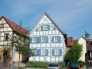 Buttenheim, Germany, Levi-Strauss house
