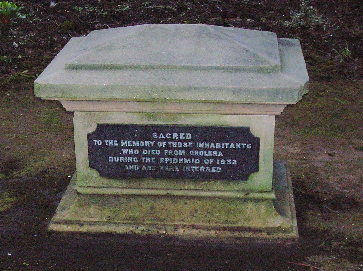Cholera pit  Wikipedia