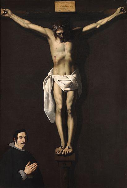 File:Cristo crucificado con un donante (Zurbarán).jpg