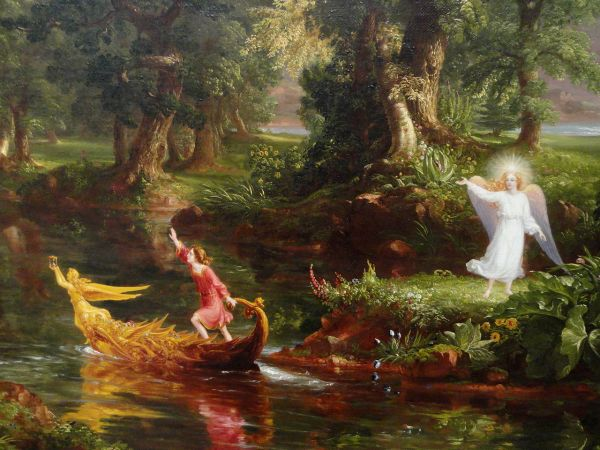 Thomas Cole Voyage of Life National Art Gallery