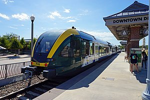 a train denton county