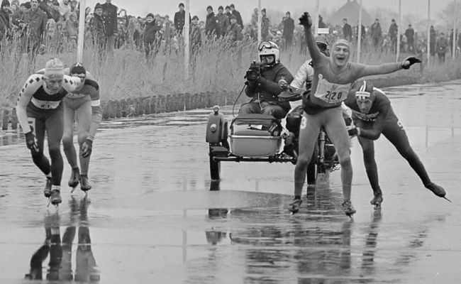 File Elfstedentocht Finish 1985 Jpg Wikimedia Commons