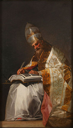 Francisco de Goya - Saint Gregory the Great, Pope - Google Art Project.jpg
