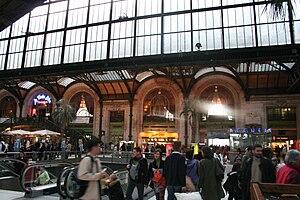 "English: TGV hall of the ""Gare de Lyon&qu..."