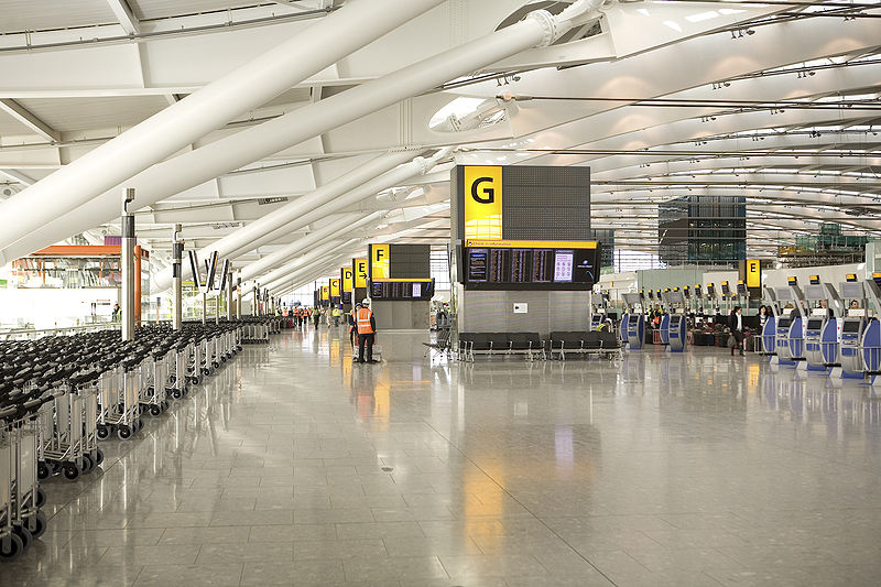 """Despite initial teething problems when Terminal 5 opened in 2008, it has since become a firm favourite with passengers,"" said Edward Plaisted of Skytrax."