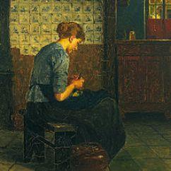 Kitchen Maid Tops Wood Domestic Worker Wikipedia