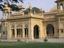 image of a south Asian style building, the National Academy of Performing Arts.