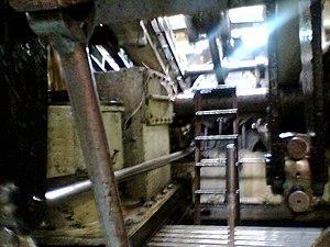 Ship steam engine Skibladner