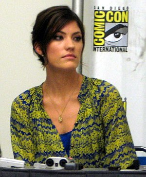 English: Actress Jennifer Carpenter – Comic-Co...