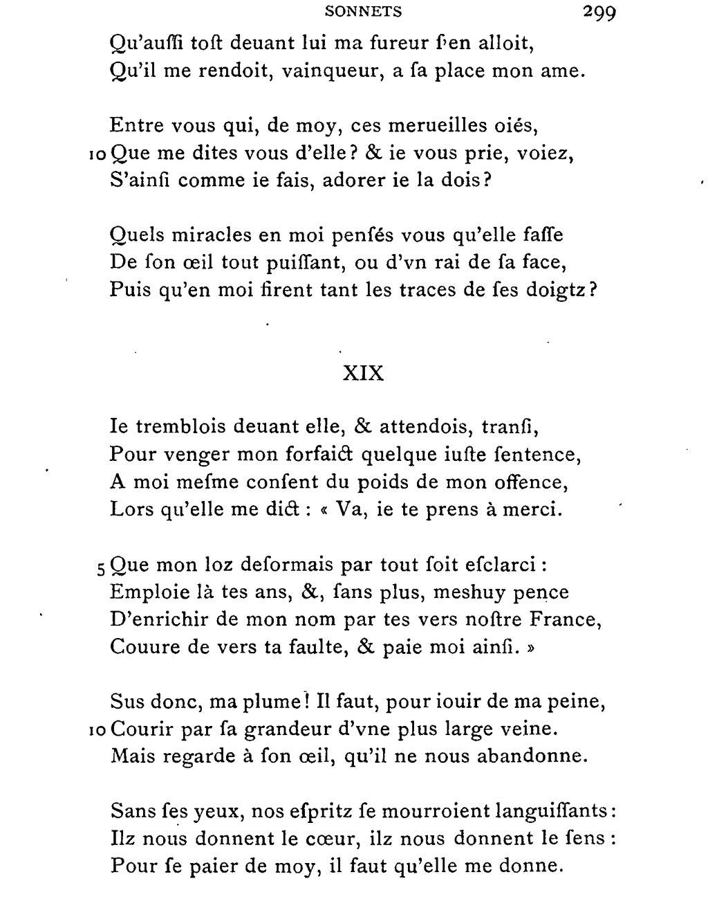 Son Oeil Noir Vous Regarde : regarde, Page:La, Boétie, Œuvres, Complètes, Bonnefon, 1892.djvu/385, Wikisource