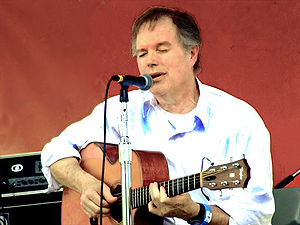 Leo Kottke photographed at the Clearwater Fest...