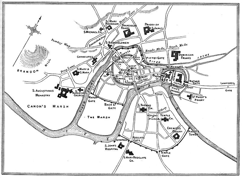 File:Map of Bristol in the 13th century.jpg