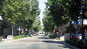 Murphy Street, Sunnyvale, California. This str...