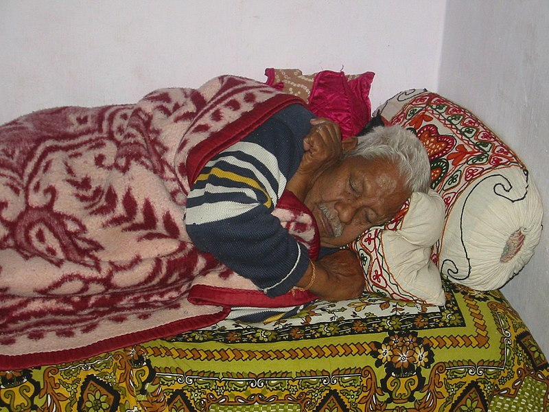 Ahmedabad, India. January 2007. I have the permission from the subject on the image.